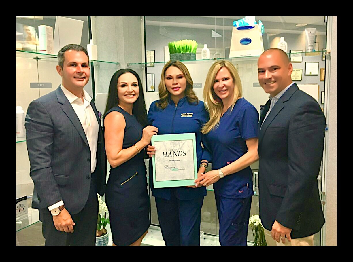 New Aging Hands Treatment at Water's Edge Dermatology